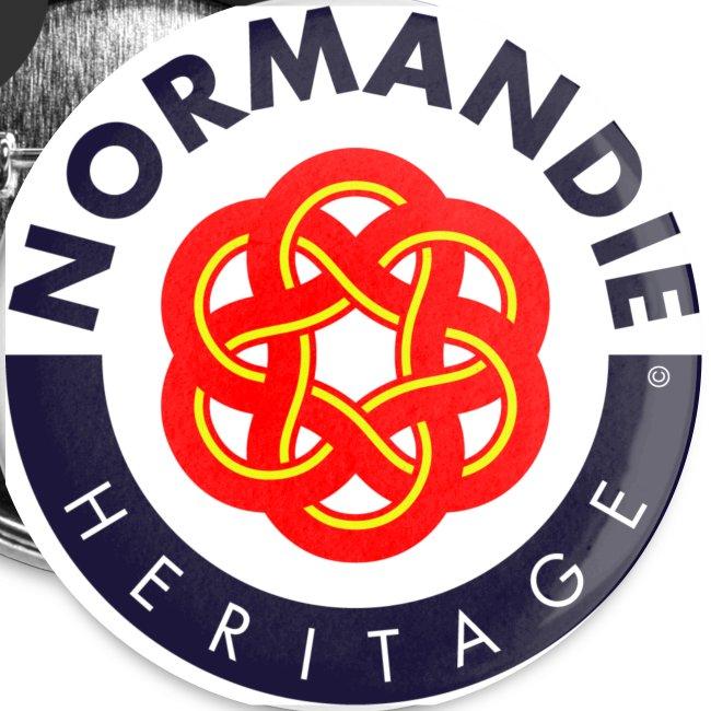 5 badges Normandie Héritage