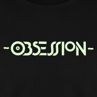 Design ~ Obsession Sweatshirt Glow in the dark logo