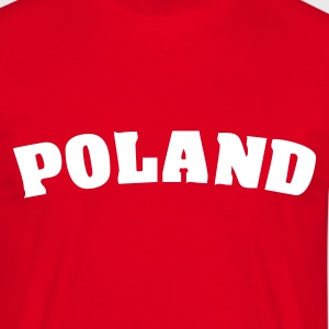 Red Poland T-Shirts - Men's T-Shirt
