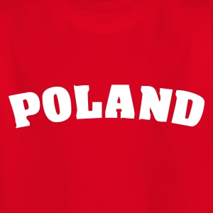 Red Poland Juniors - Teenage T-shirt