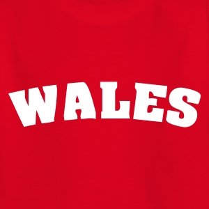 Red Wales Juniors - Teenage T-shirt