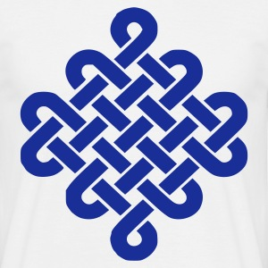 White Celtic Knot T-Shirts - Men's T-Shirt