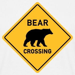 BEAR CROSSING - Männer T-Shirt