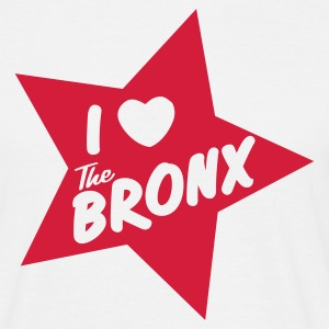 I love the Bronx - Männer T-Shirt