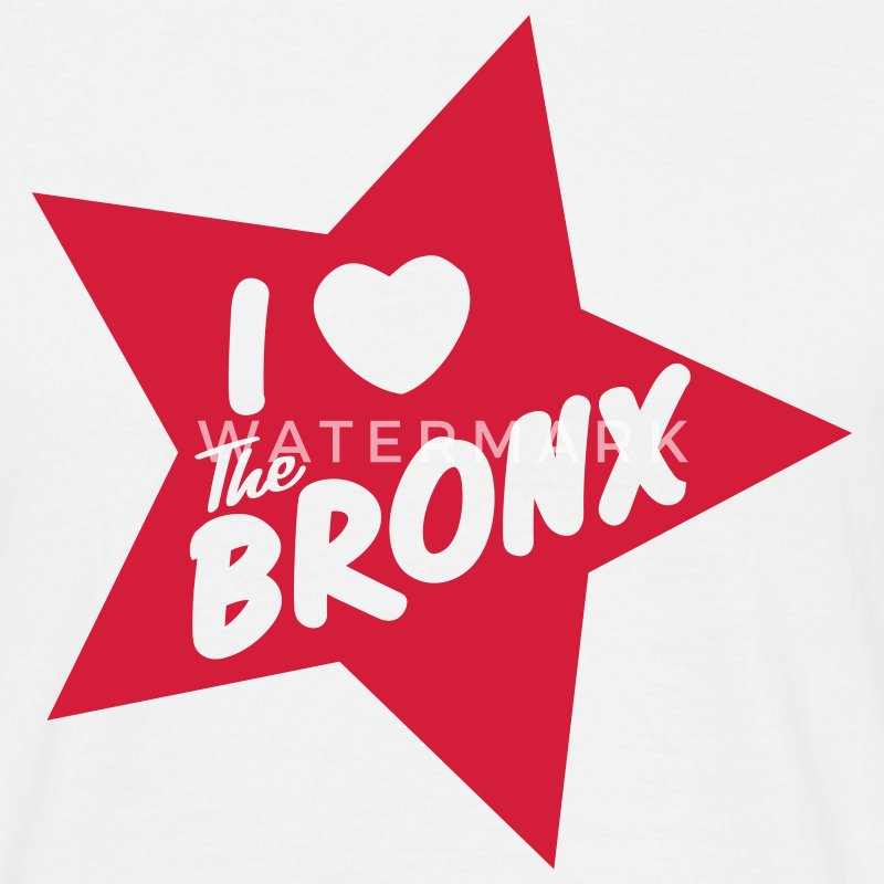 I love the Bronx - Men's T-Shirt
