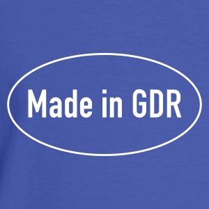 Made in GDR - Männer Kontrast-T-Shirt