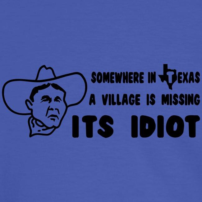 Bush der Idiot
