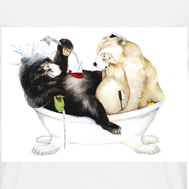 Bären baden