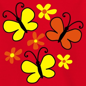 Red butterflies Juniors - Camiseta adolescente