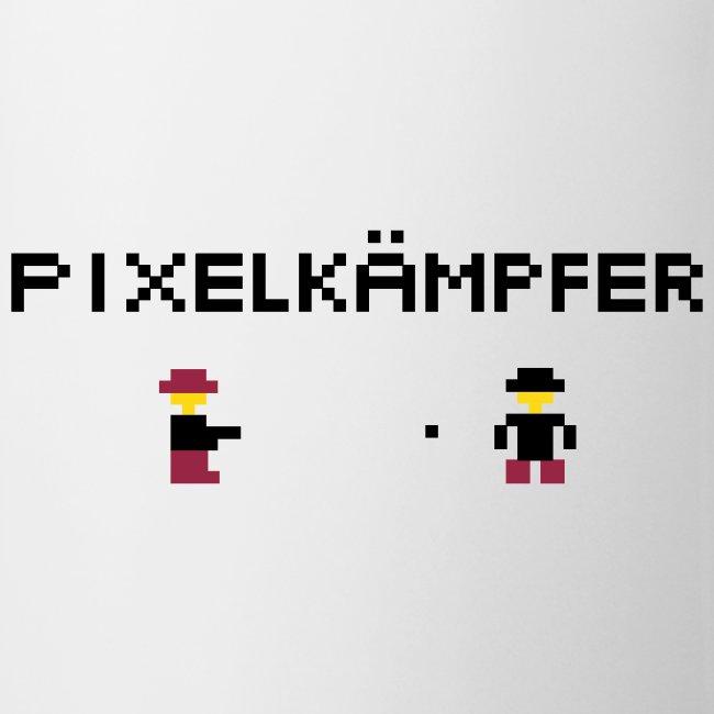 Pixelkämpfer Tasse