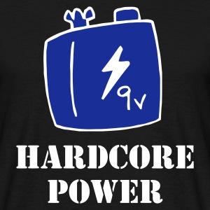 Black Hardcore Power Men's T-Shirts - Men's T-Shirt