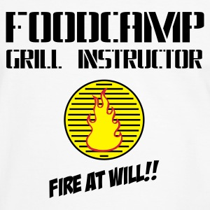 Foodcamp Grill Instructor - Männer Kontrast-T-Shirt