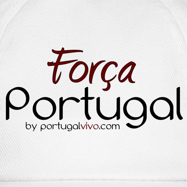 Força Portugal - Casquette Blanche