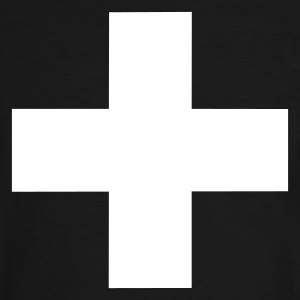 White Cross - T-shirt contraste Homme