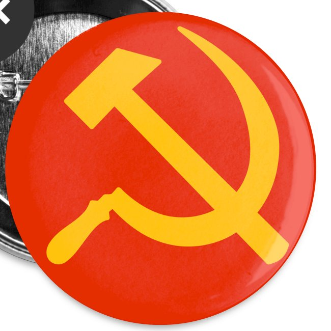 Hammer and Sickle Badges / Buttons