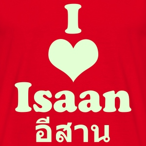 I Love Isaan / Glow in the Dark - Men's T-Shirt