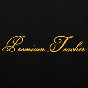 Black Premium Teacher Accessories - Tote Bag