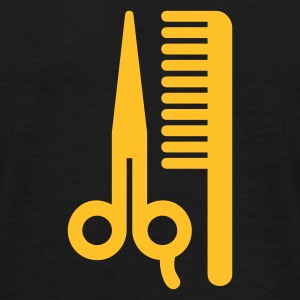 Scissors,Comb,Barber,Hair - Men's T-Shirt