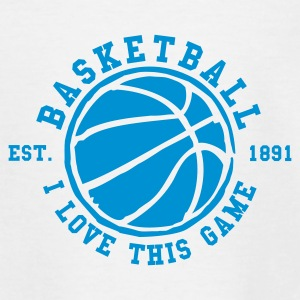 Basketball - I love this game - Est. 1891 - Teenager T-Shirt