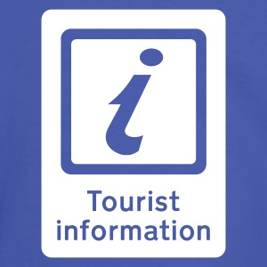 Tourisme,Tourist Information,Sight Seeing - T-shirt contraste Homme