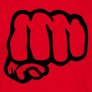 Red Fist - Hand T-Shirts - Men's T-Shirt