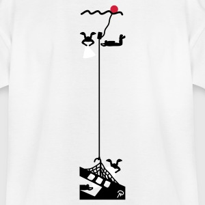 White Wreck diving Kid's Shirts  - Teenage T-shirt