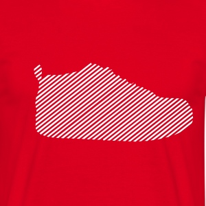 Red Sneaker Men's Tees - Men's T-Shirt