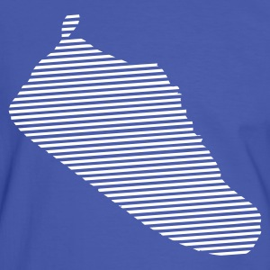 Blue/white Sneaker Men's Tees - Men's Ringer Shirt