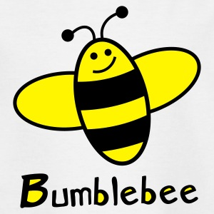 White bumblebee Juniors - T-shirt Ado