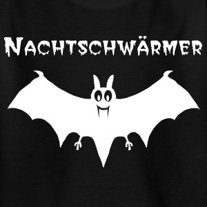 Schwarz Vampir-Fledermaus Kinder Shirts - Teenager T-Shirt
