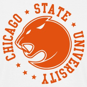 Chicago State University - Männer T-Shirt
