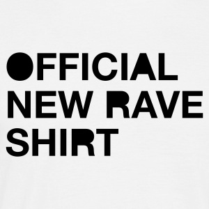 White New Rave Men's Tees (short-sleeved) - Men's T-Shirt