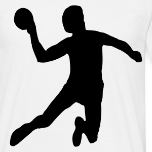 White Handball - Volleyball - Sport T-Shirts - Men's T-Shirt
