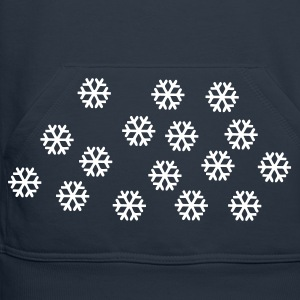Navy Snow - Winter - Christmas Jumpers - Men's Premium Hoodie