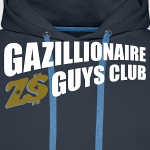 Navy gazillion1_t_11 Jumpers - Men's Premium Hoodie