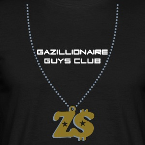 Black Gazillionaire Guys Club, Zimbabwe Men's Tees - Men's T-Shirt