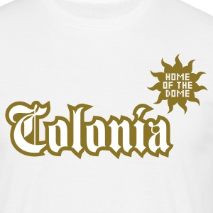 Weiß Colonia (Home of the dome) T-Shirts - Männer T-Shirt