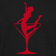 Lady in a Cocktail Glass - Kneeling