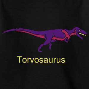 Schwarz Torvosaurus Kinder Shirts - Teenage T-shirt