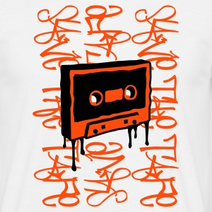 Weiß Save the Tape T-Shirts (Kurzarm) - Männer T-Shirt