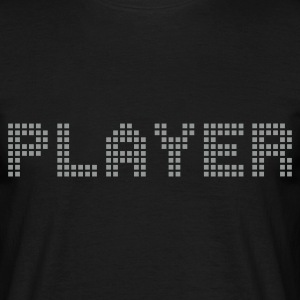 Svart Player T-shirts (kort ärm) - T-shirt herr