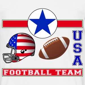 usa football team - T-shirt Homme