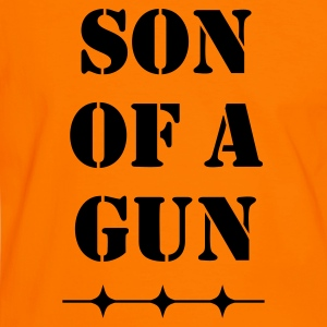 Son of a gun - Männer Kontrast-T-Shirt