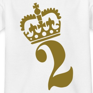 White Number Kid's Shirts  - Teenage T-shirt