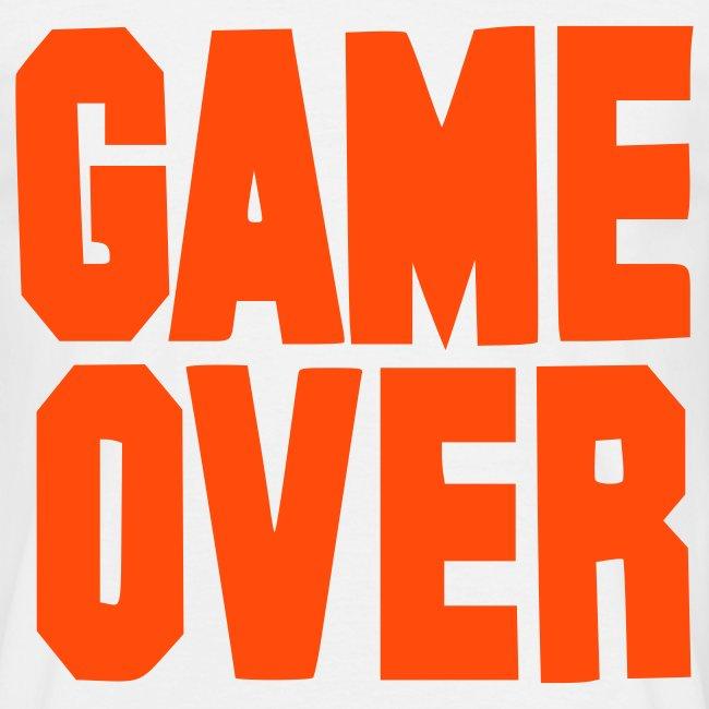 game over t-sjorte