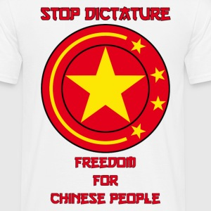 Stop Chinese Dictaure - T-shirt Homme