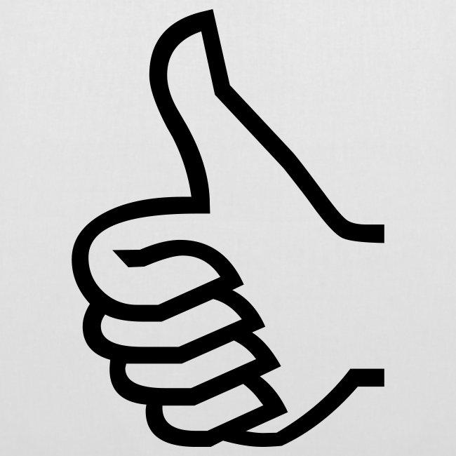 Thumb-Up Bag