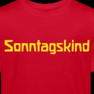 Motiv ~ Sonntagskind Bio Shirt