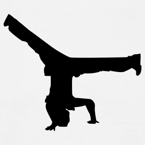 breakdancer - Men's T-Shirt