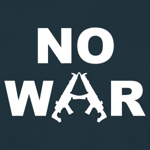 no war - T-skjorte for menn